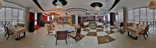 jídelna, panorama