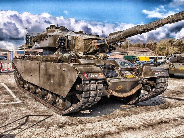 válečný tank