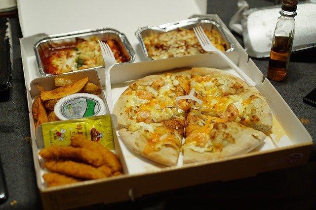 dodávka jídla